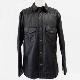 ハレーダビットソンレザーシャツジャケット